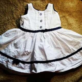 Baby Me White Dress