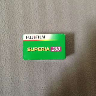 Superia 200 Expired Film