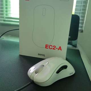 Zowie EC2-A Gaming Mouse (Gloss White edition)