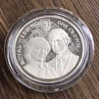 Gibraltar 1981 Silver Proof Coin