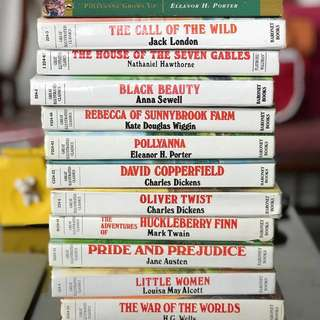 👍 CLASSIC LITERATURE BOOKS (Oliver Twist, Black Beauty, Little Women, Huckleberry Finn etc)