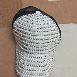Pearl Spiky Hat