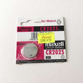 CR2025 Cell battery