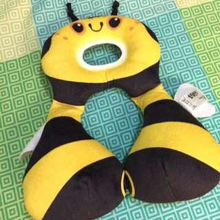 Bumblebee travel neck pillow