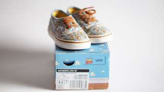Vans Authentic X Toys Story 100% Original