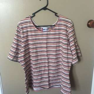 Vintage stripy top