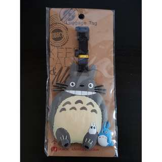 Luggage Tag - Totoro and his two little pals