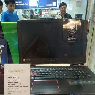 Cash & Credit laptop gaming acer VX-15