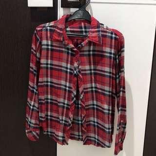 Red Tartan Shirt