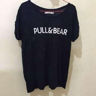 pull and bear tshirt