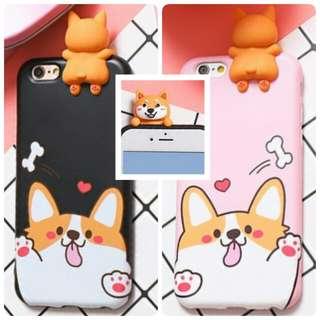 立體-狗 IPhone殼