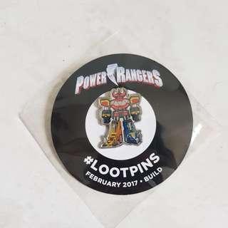 LootPins POWER RANGERS