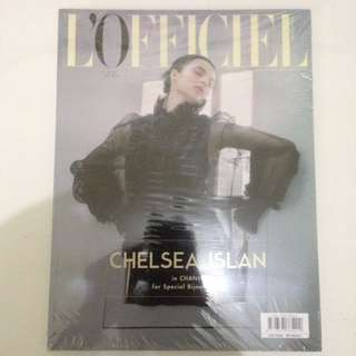 Majalah L'officiel edisi July 2016