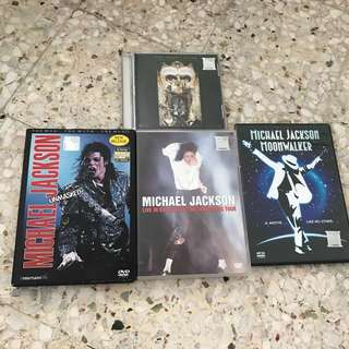ORIGINAL Michael Jackson VCD & DVD