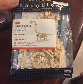 Nanoblock - Brachiosaurus