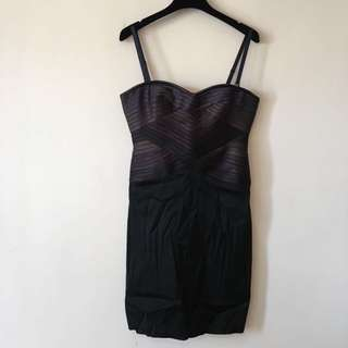 BCBG Max Azria Strapless Dress with in-built Corset