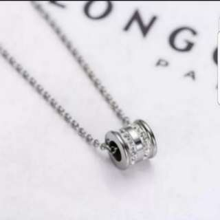 S925 Unisex Couple Crystal Ring Necklace for him/her