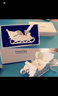 Pandora 2014 Limited edition Christmas edition sleigh 🎅🏻🎄