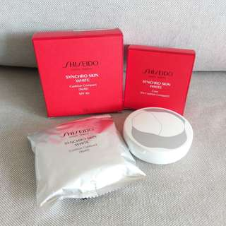 Shiseido Synchro Skin White Cushion Compact and Case