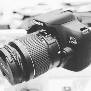 Kredit kamera dslr Canon Eos 1300d