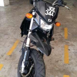 Kawasaki ksr pro2012