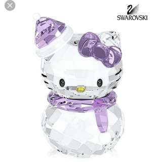 Swarovski hello kitty figurine