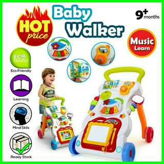 💥RS💥Baby Toddler Sit to Stand Learning Walker Music Toys Water Tank