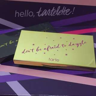 Tarte limited-edition don't be afraid to dazzle contour highlight palette