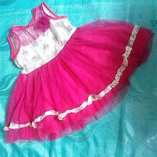 Girls Pink Tutu Dress
