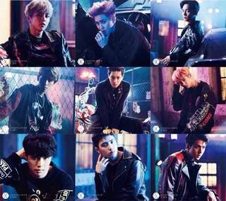 [PREORDER] EXO Coming Over Album
