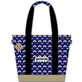 "おそ松さん×OUTDOOR PRODUCTS 3WAYトートバッグ 虹松柄 (""Osomatsu-san"" x Outdoor Products 3way Tote Bag RainbowMatsu Pattern)"