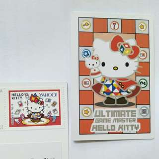 Sanrio Hello Kitty stamp & card 紀念郵票
