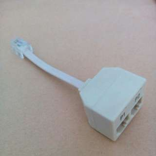 1 to 2 phone lines adapter