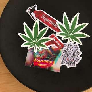 🧡PVC stickers set