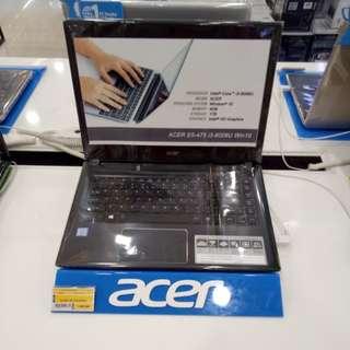 Laptop Acet bisa dicicil
