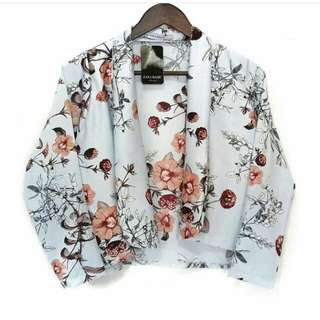 Blazer / cardy peoni floral