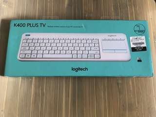 ✨NEW✨ Logitech Wireless Keyboard K400 Plus TV