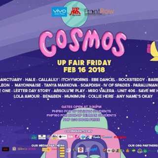 Looking for UP FAIR COSMOS Tickets