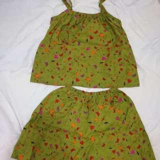 Green terno