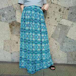 F21 boho maxi skirt