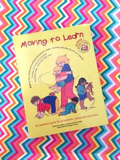 Charity Sale! Moving to Learn by Robyn Crowe