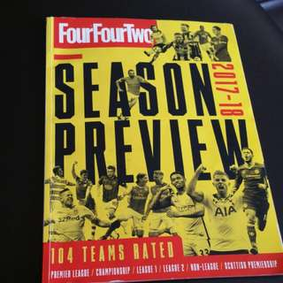 Four Four Two Season Preview EPL 2017-2018