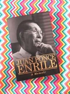 Charity Sale! Juan Ponce Enrile A Memoir