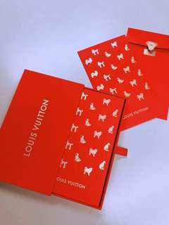 LV限量利是封 狗年VIP盒裝 Louis Vuitton