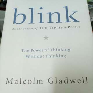 <STOCK CLEARANCE> Blink by Malcolm Gladwell