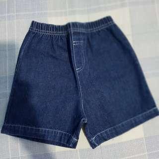 Boys' dark blue shorts