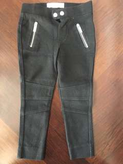 Zara Girls Black Jeggings