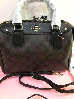 Original coach women Handbag sling bag Bennett bag