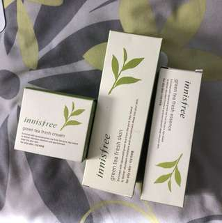 Innisfree Green Tea Fresh Line