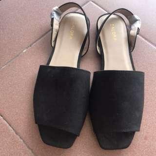 Brand New Black Zalora Sandal